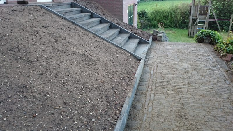 Trap gemaakt met Schellevis trapelementen.